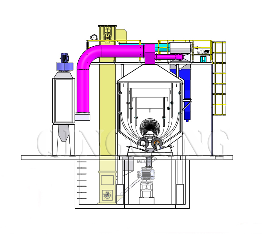 pipe shot blasting machine 2
