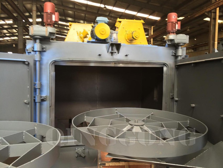 rotary table shot blasting machine 2